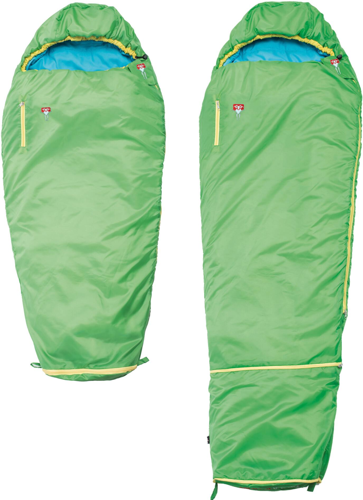 Grüezi-Bag Grow Colorful Sovepose Børn, gecko green | Transport og opbevaring > Tilbehør