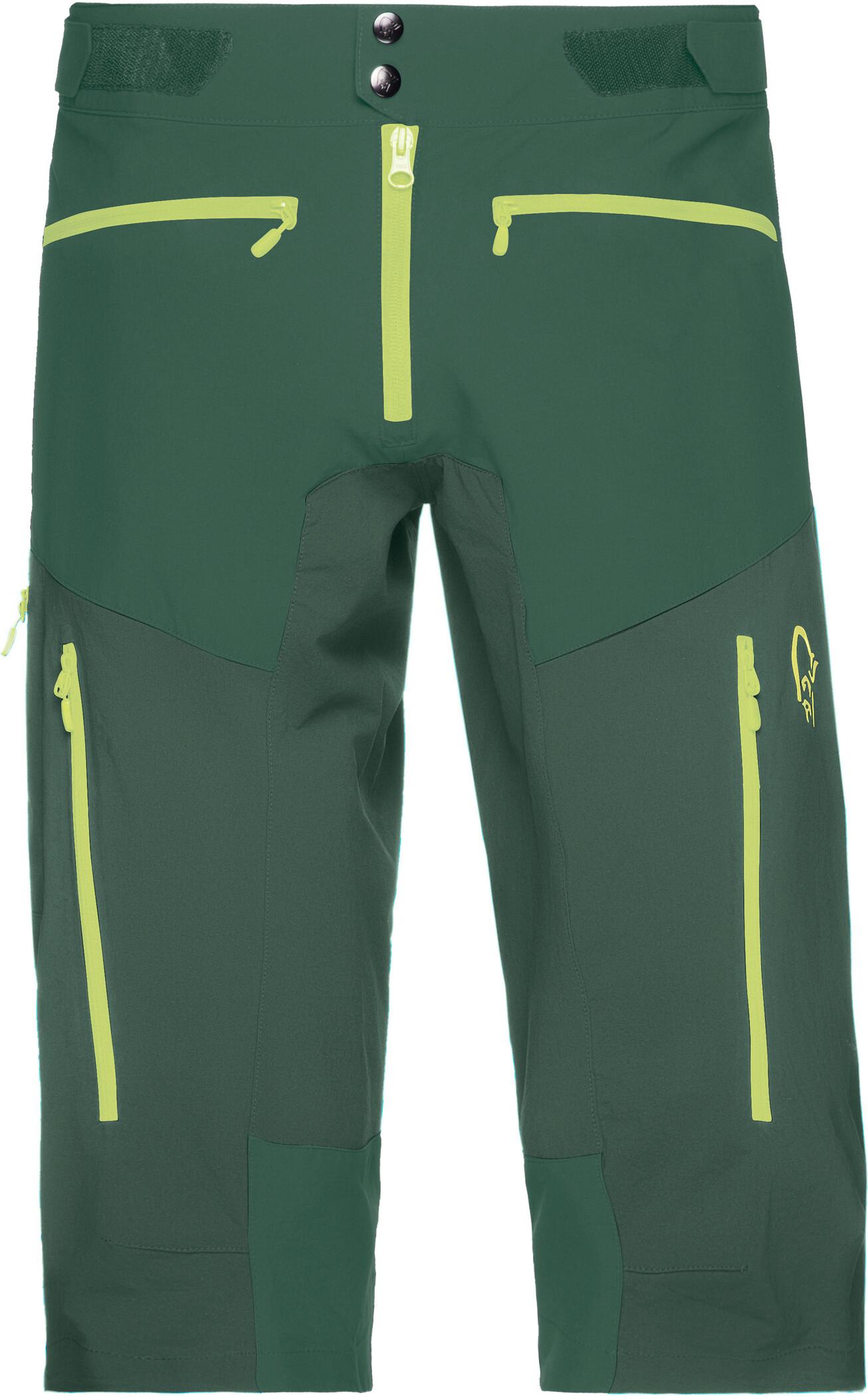 Norrøna Fjørå Flex1 Shorts Herrer, jungle green (2019)   Trousers
