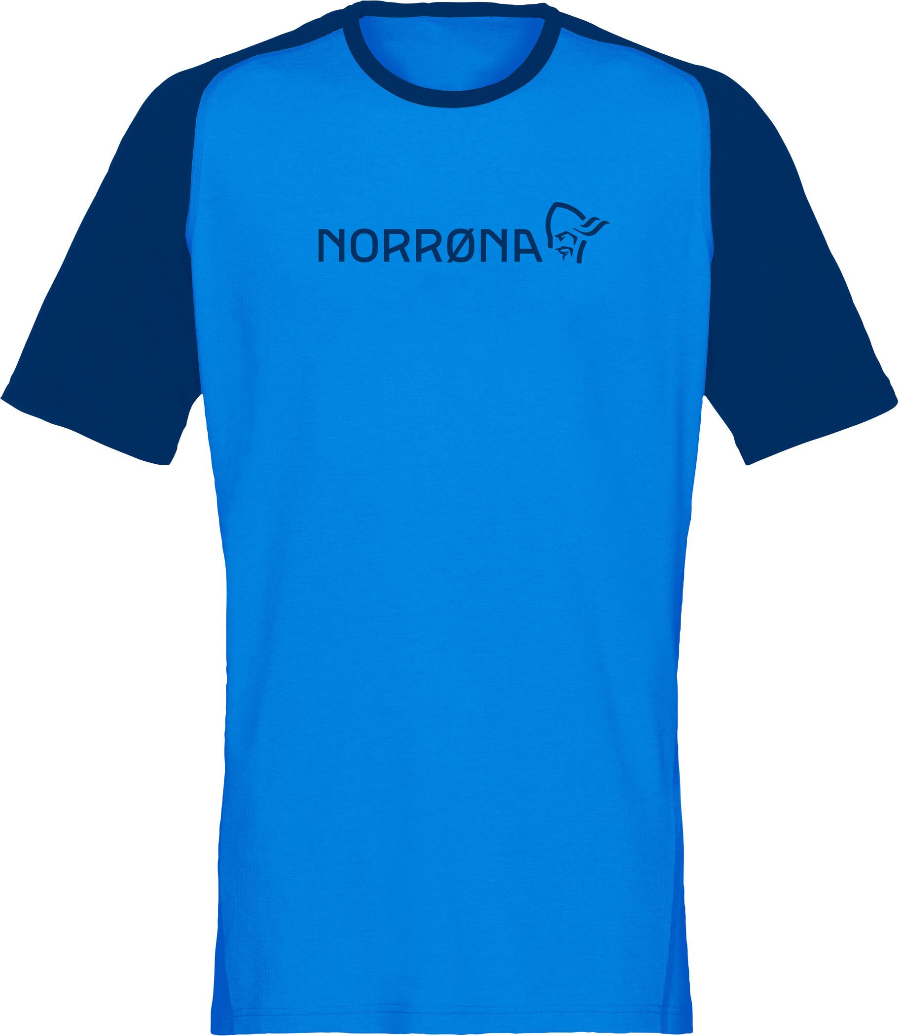 Norrøna Fjørå Equaliser Lightweight T-shirt Herrer, hot sapphire (2019)   Jerseys
