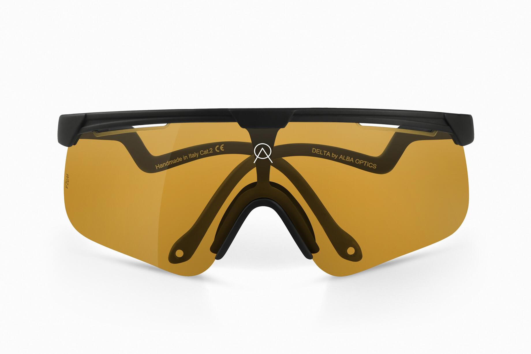 ALBA Optics Delta Cykelbriller Herrer, black | Briller