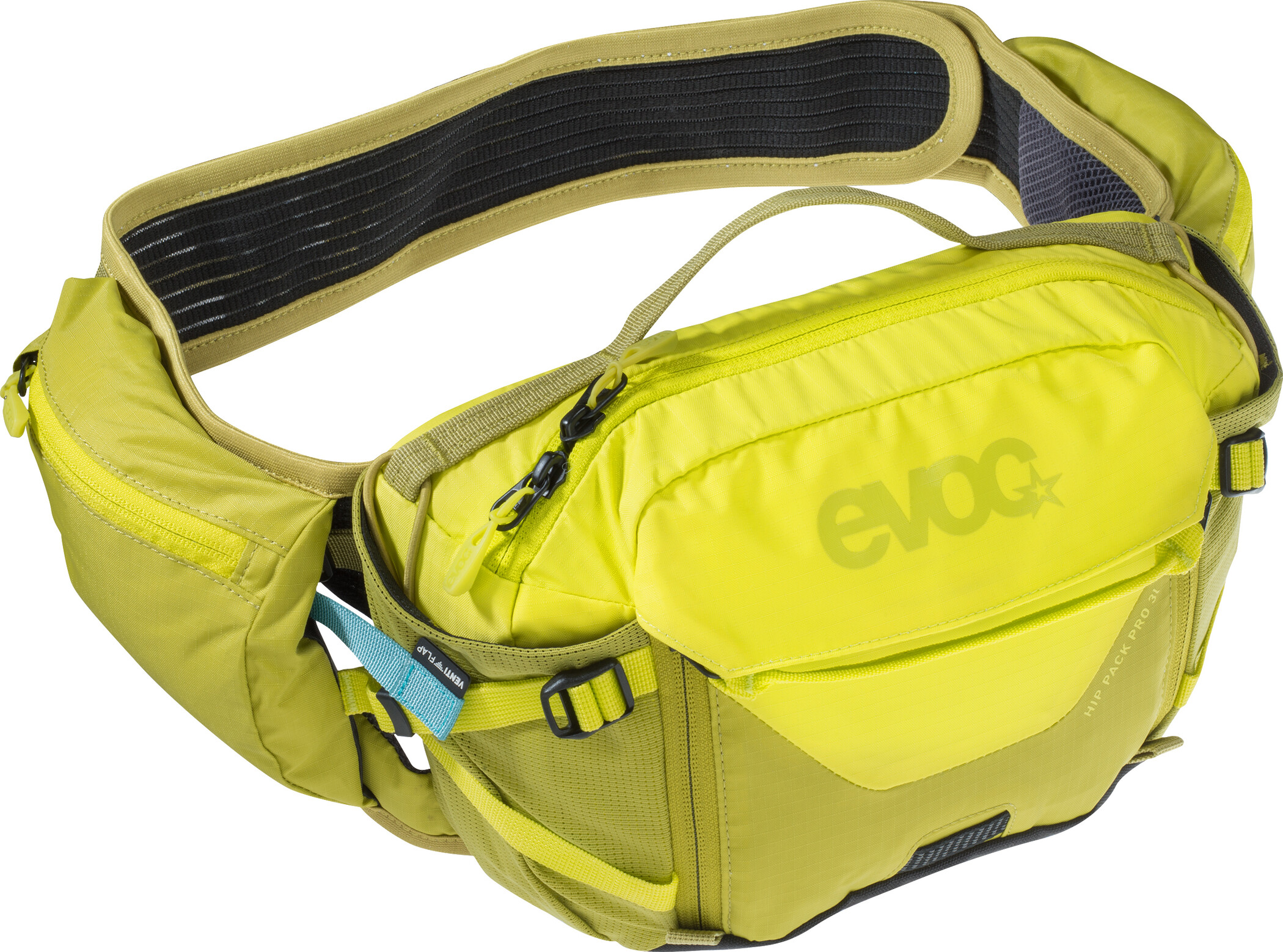 EVOC Hip Pack Pro medium, sulphur/moss green | Waist bags