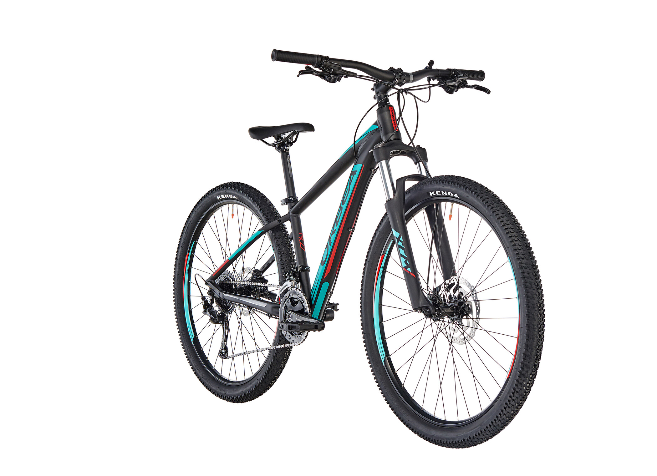 """ORBEA MX XS 40 27,5"""" Kids, black-turquoise-red (2019)   item_misc"""