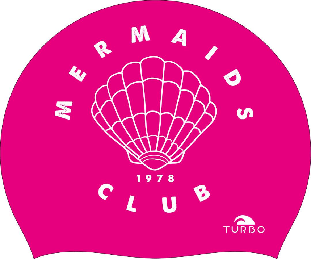 Turbo Mermaid Club Badehætte, pink (2019) | swim_clothes