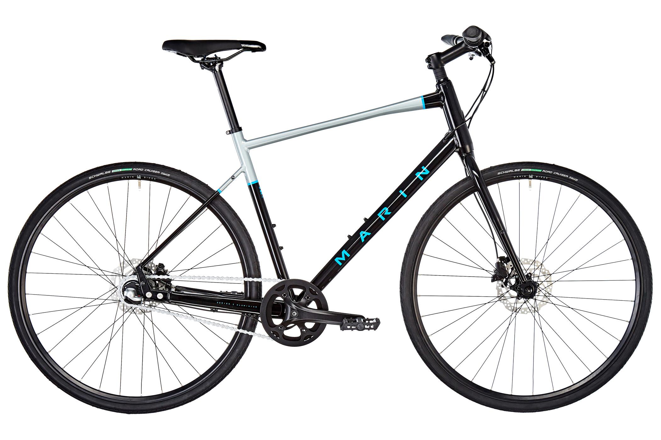 Marin Presidio 1, black | City-cykler