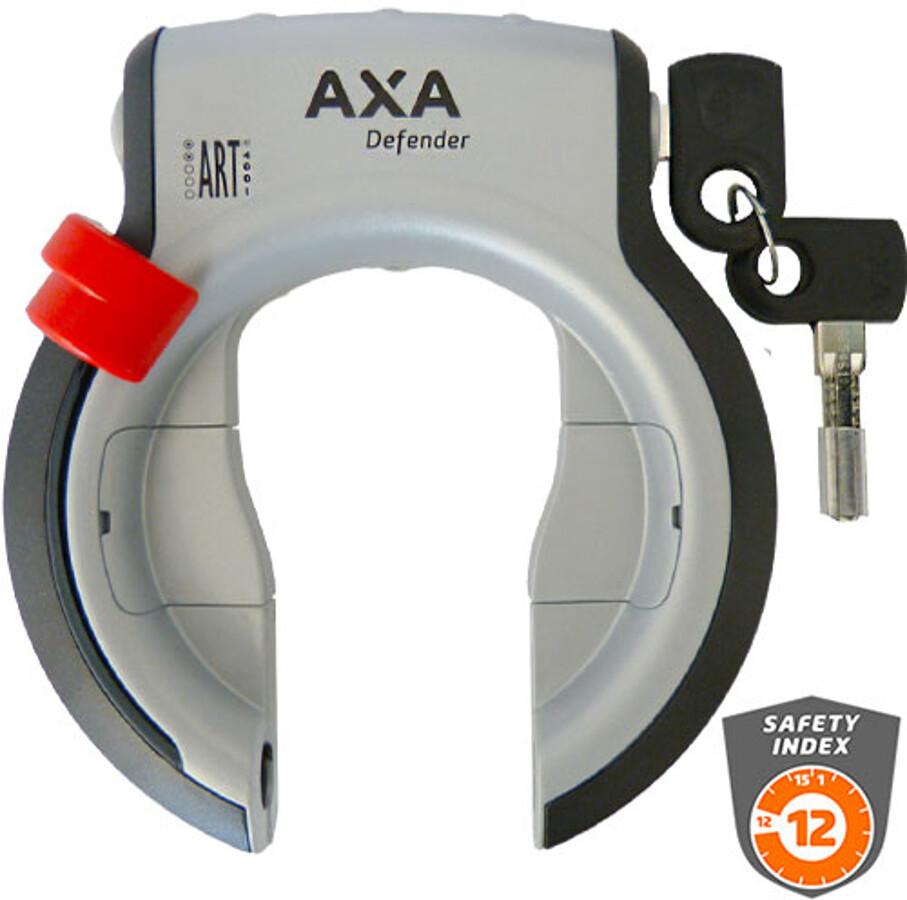 Axa Defender RL Cykellås, silver/black (2019) | Bike locks