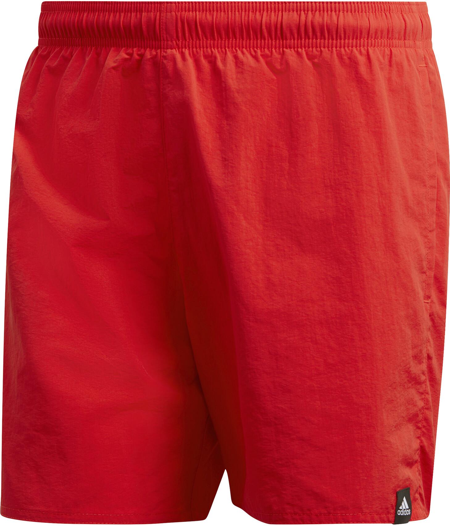 adidas Solid SL Shorts Herrer, active orange (2019)   swim_clothes
