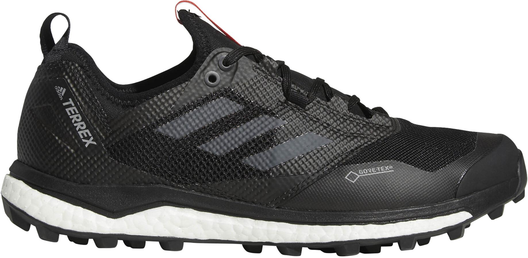 adidas TERREX Agravic XT GTX Sko Herrer, core black/grey five/hi-res red (2019)   Shoes and overlays