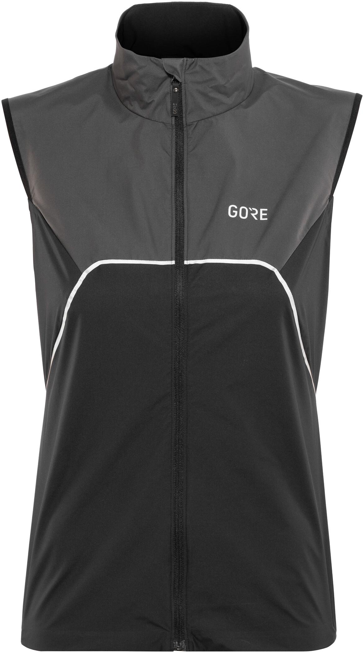 GORE WEAR R7 Partial Gore-Tex Infinium Vest Damer, black/terra grey (2019) | Vests