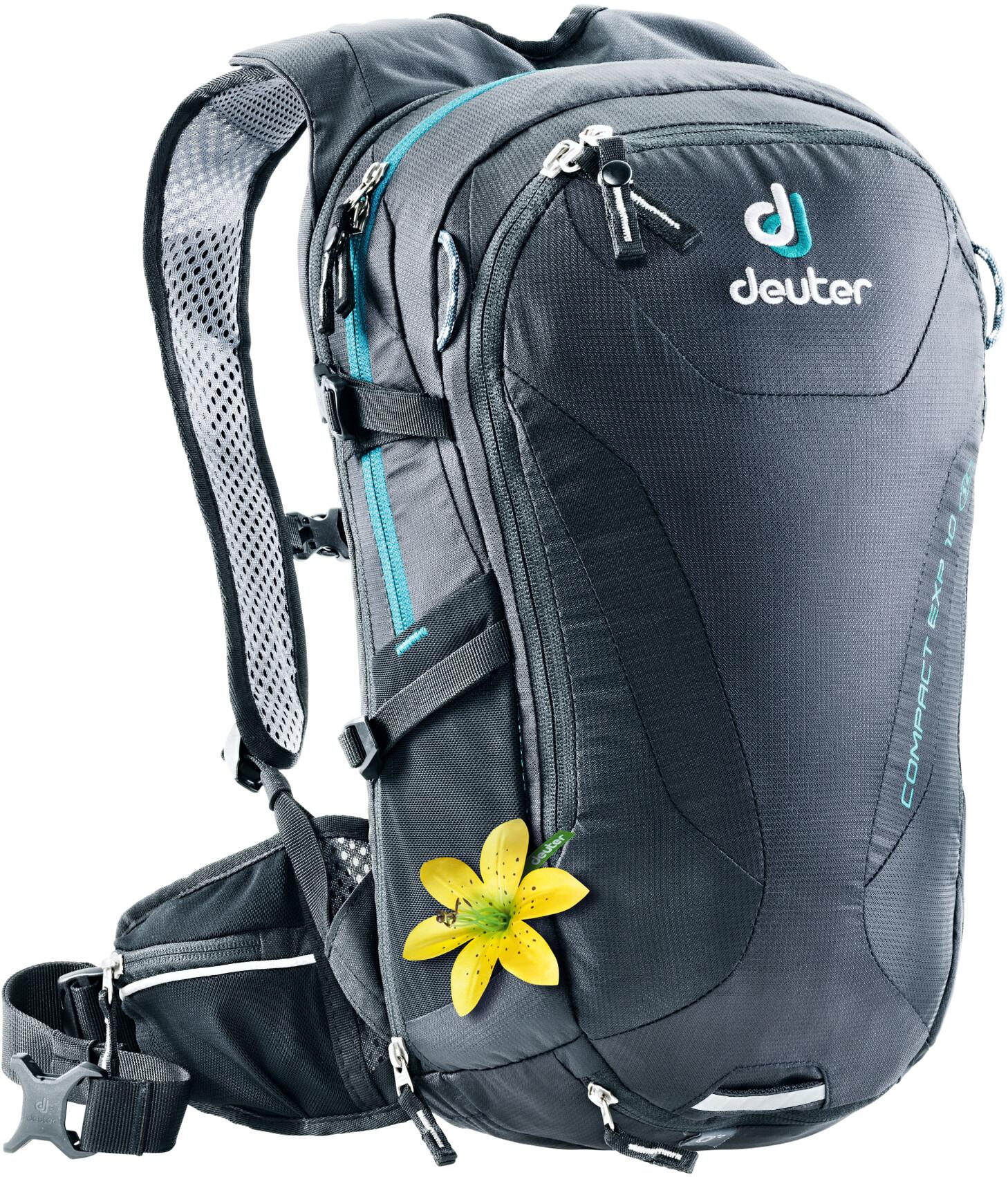 Deuter Compact EXP 10 SL Rygsæk Damer, black (2019)   Travel bags