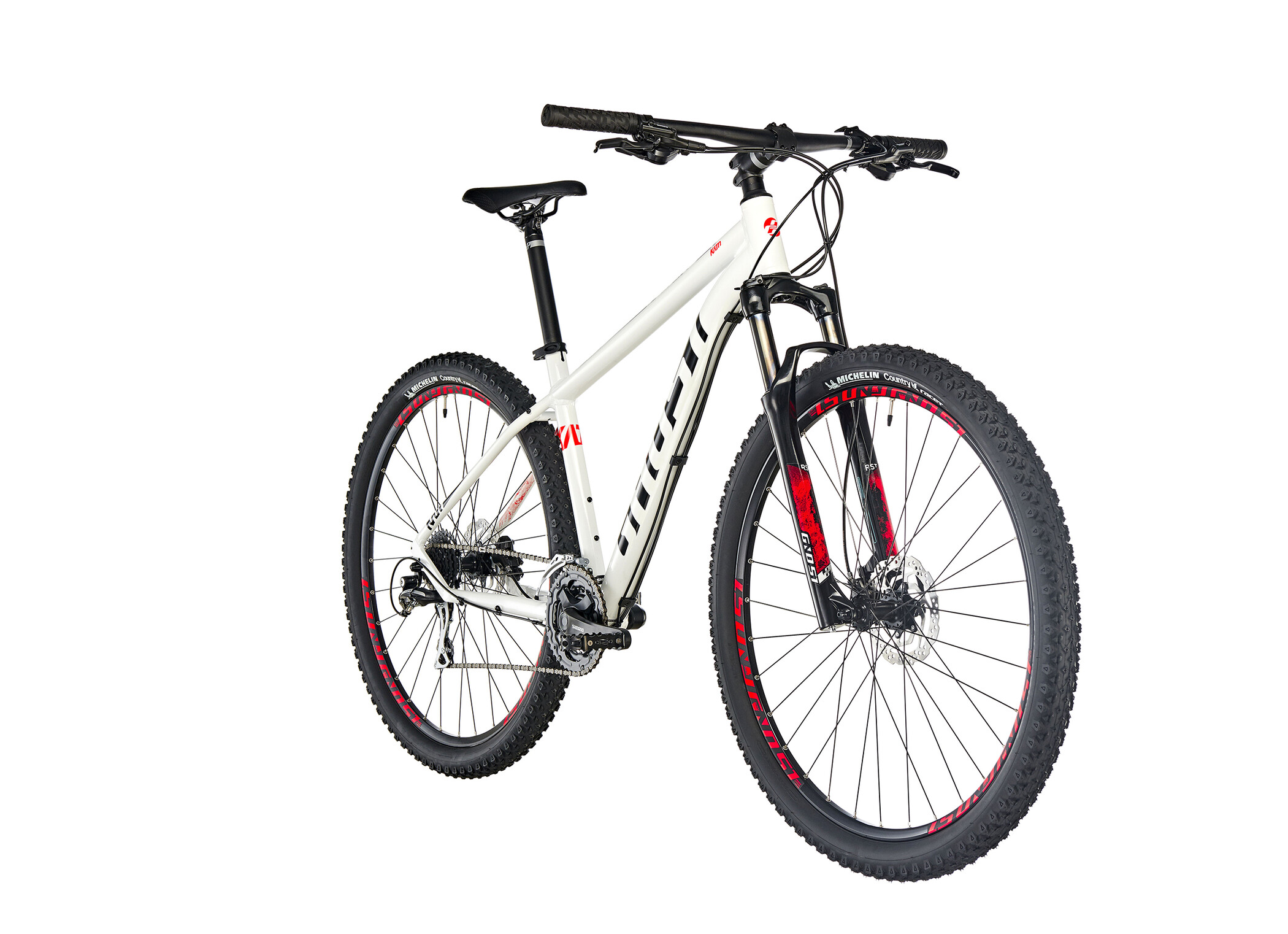 "Ghost Kato 3.9 AL 29"", star white/night black/fiery red (2019) 