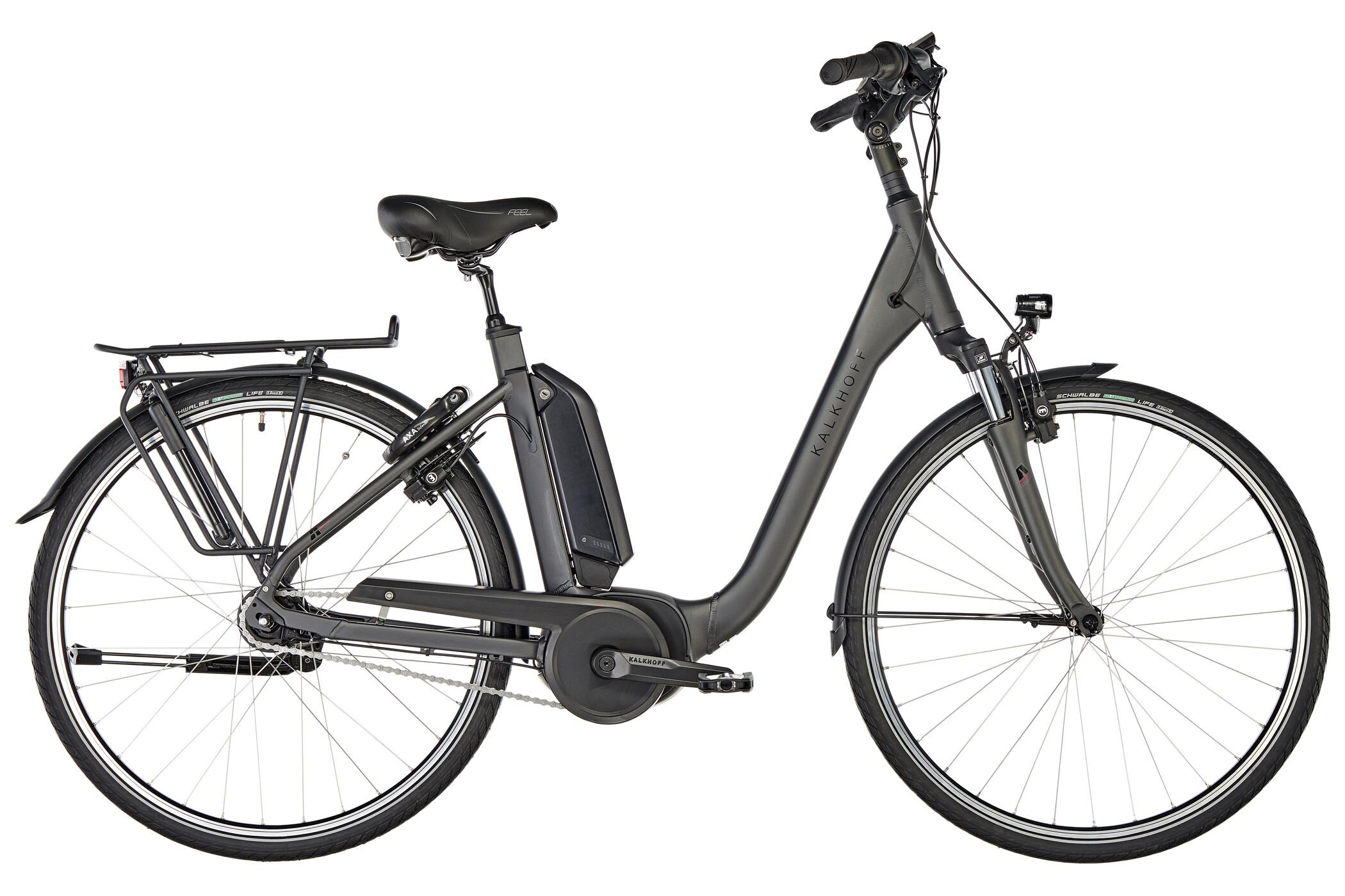 Kalkhoff Agattu B7 Move Comfort 400Wh, diamondblack matt | City-cykler