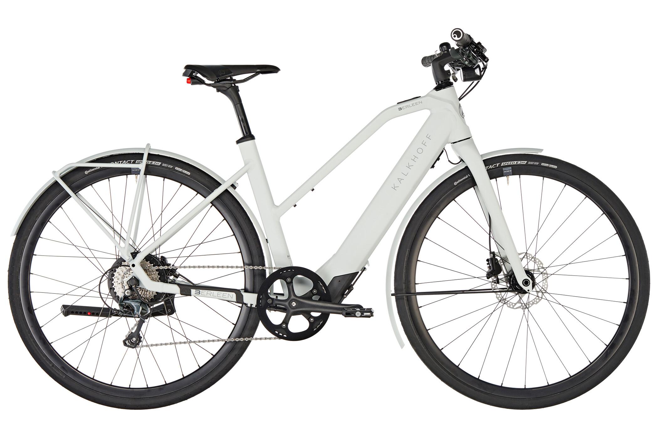 Kalkhoff Berleen 5.G Advance E-citybike Trapez 252Wh grå (2019) | City-cykler