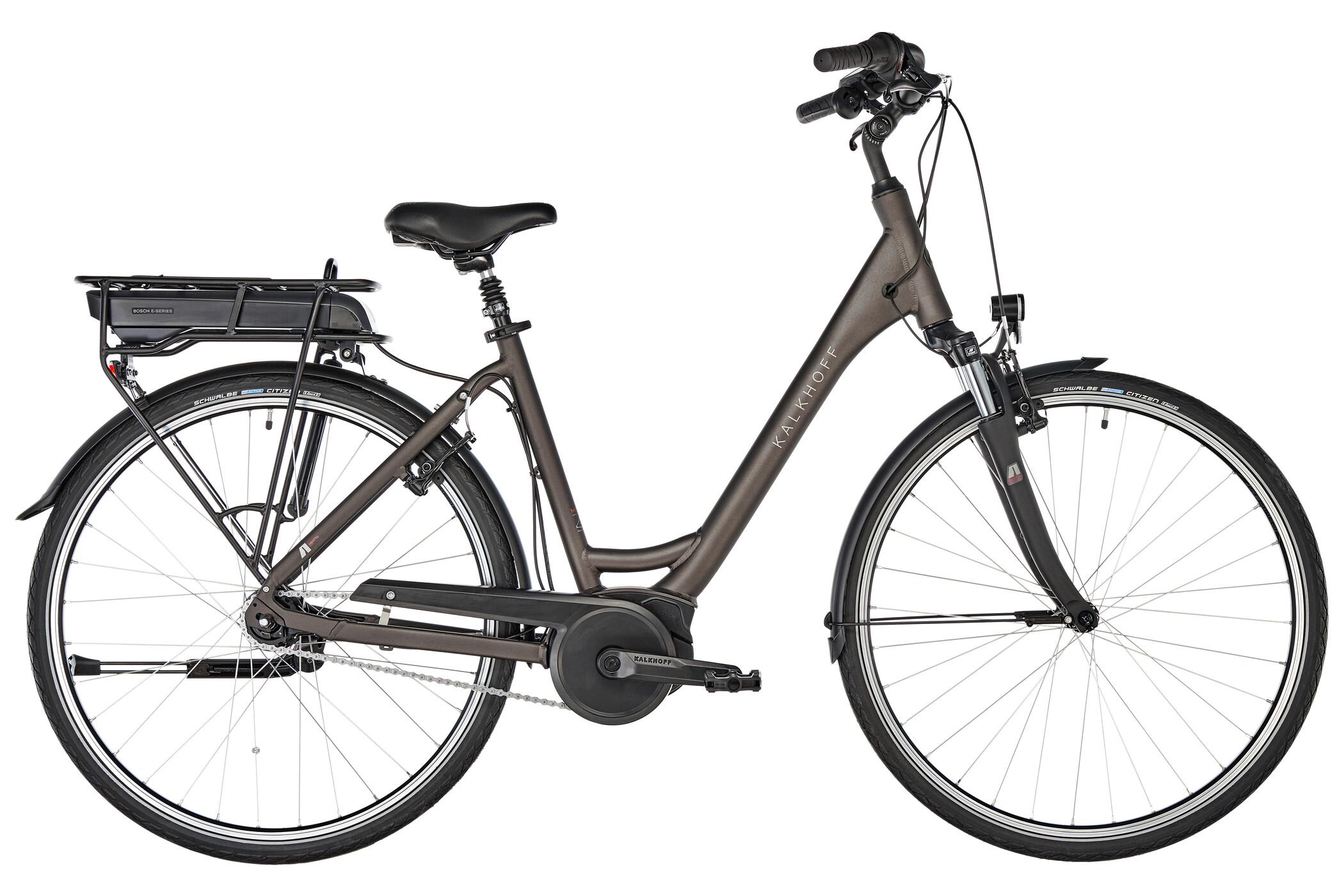 Kalkhoff Agattu 1.B Move R Wave 400Wh, atlasgrey matt | City-cykler