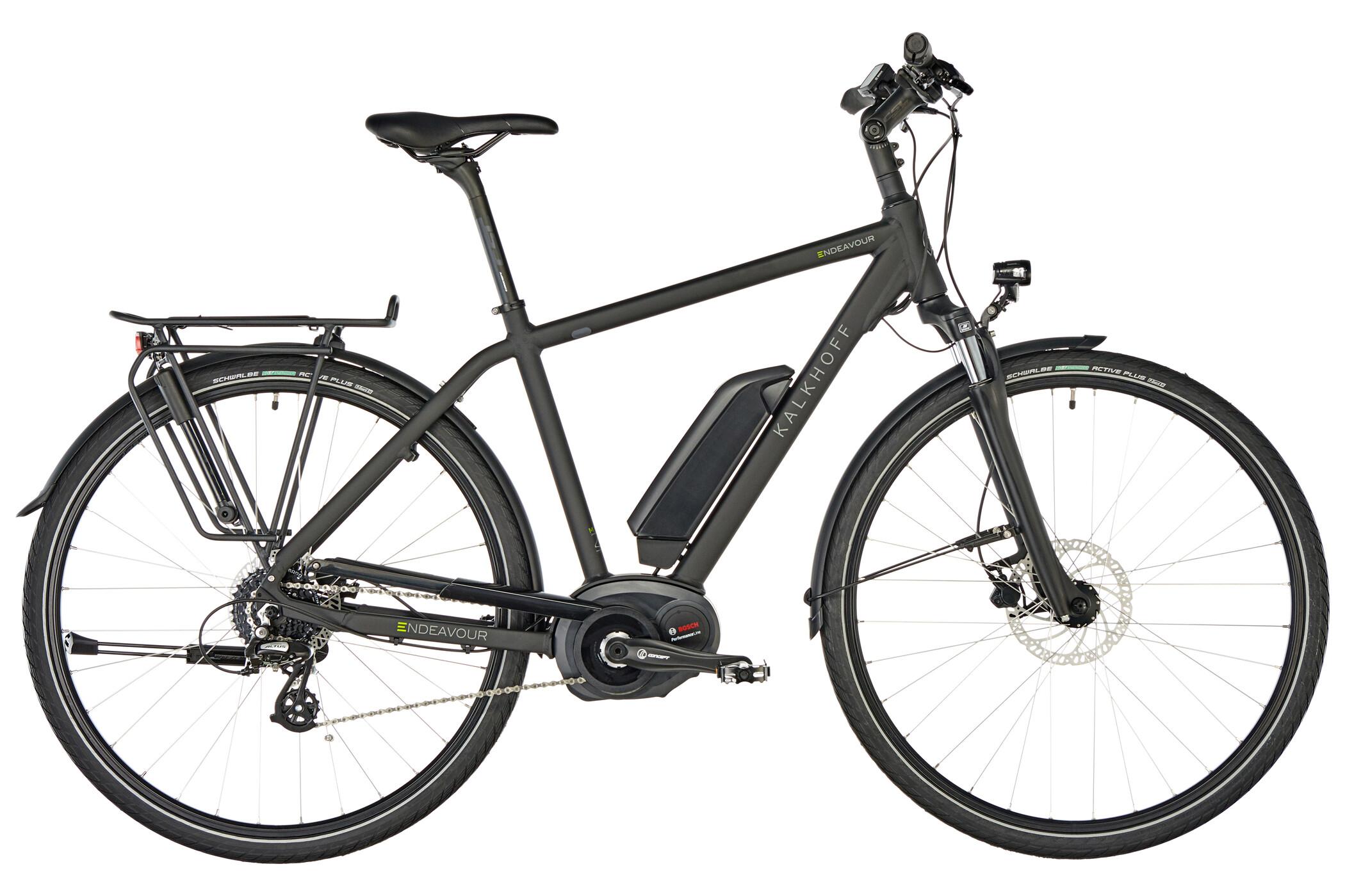 Kalkhoff Endeavour 1.B Move E-trekkingcykel Diamant 400Wh sort (2019) | City-cykler