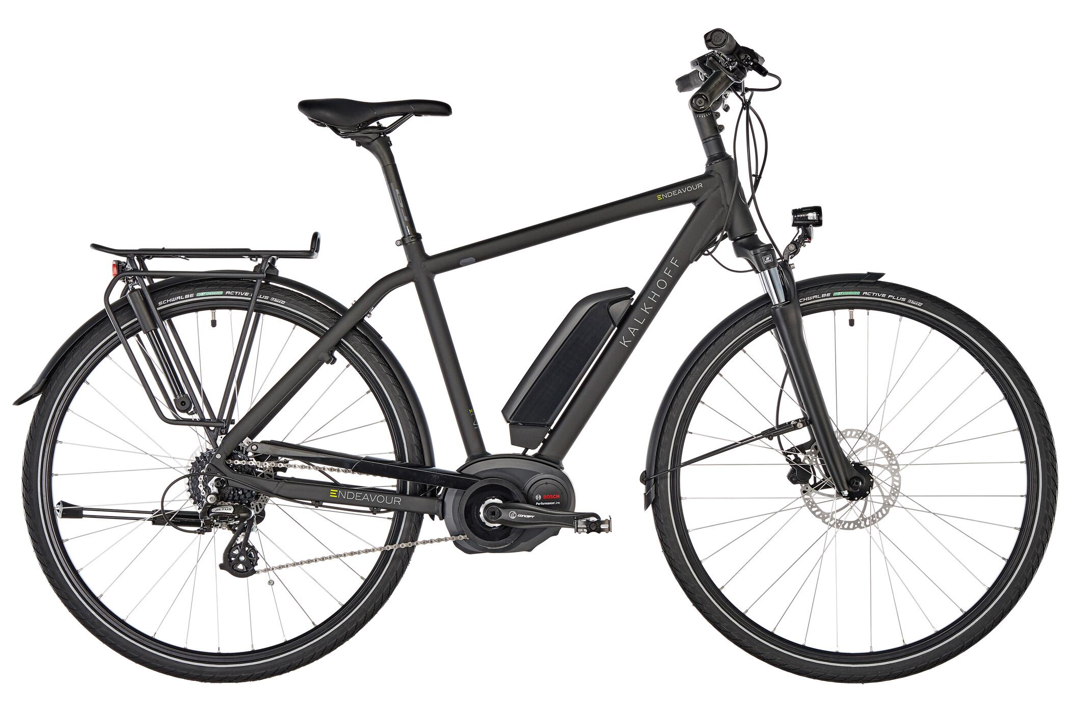 Kalkhoff Endeavour 1.B Move E-trekkingcykel Diamant 500Wh sort (2019) | City-cykler