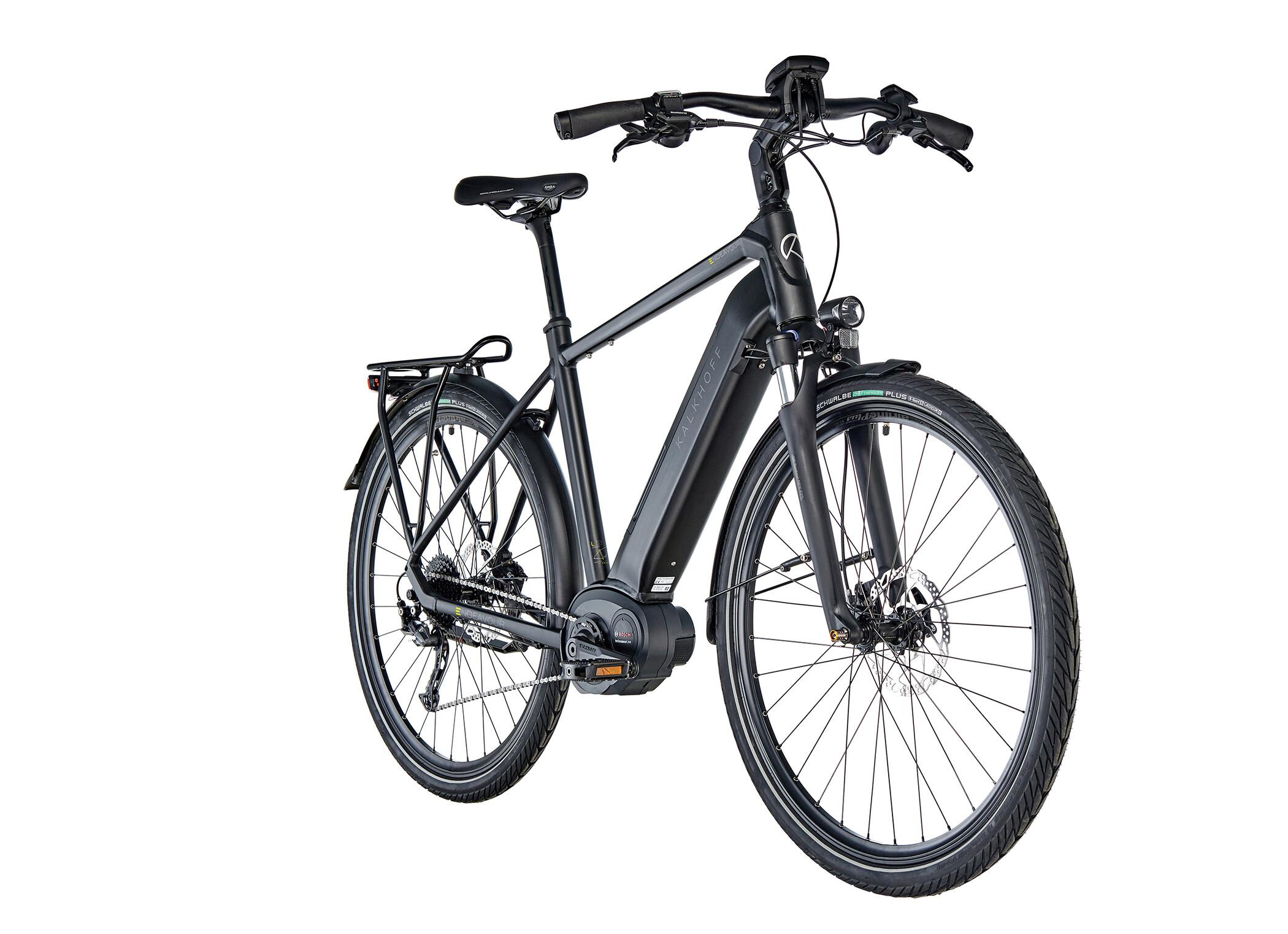 Kalkhoff Endeavour 5.B XXL E-trekkingcykel Diamant 500Wh sort (2019) | City-cykler