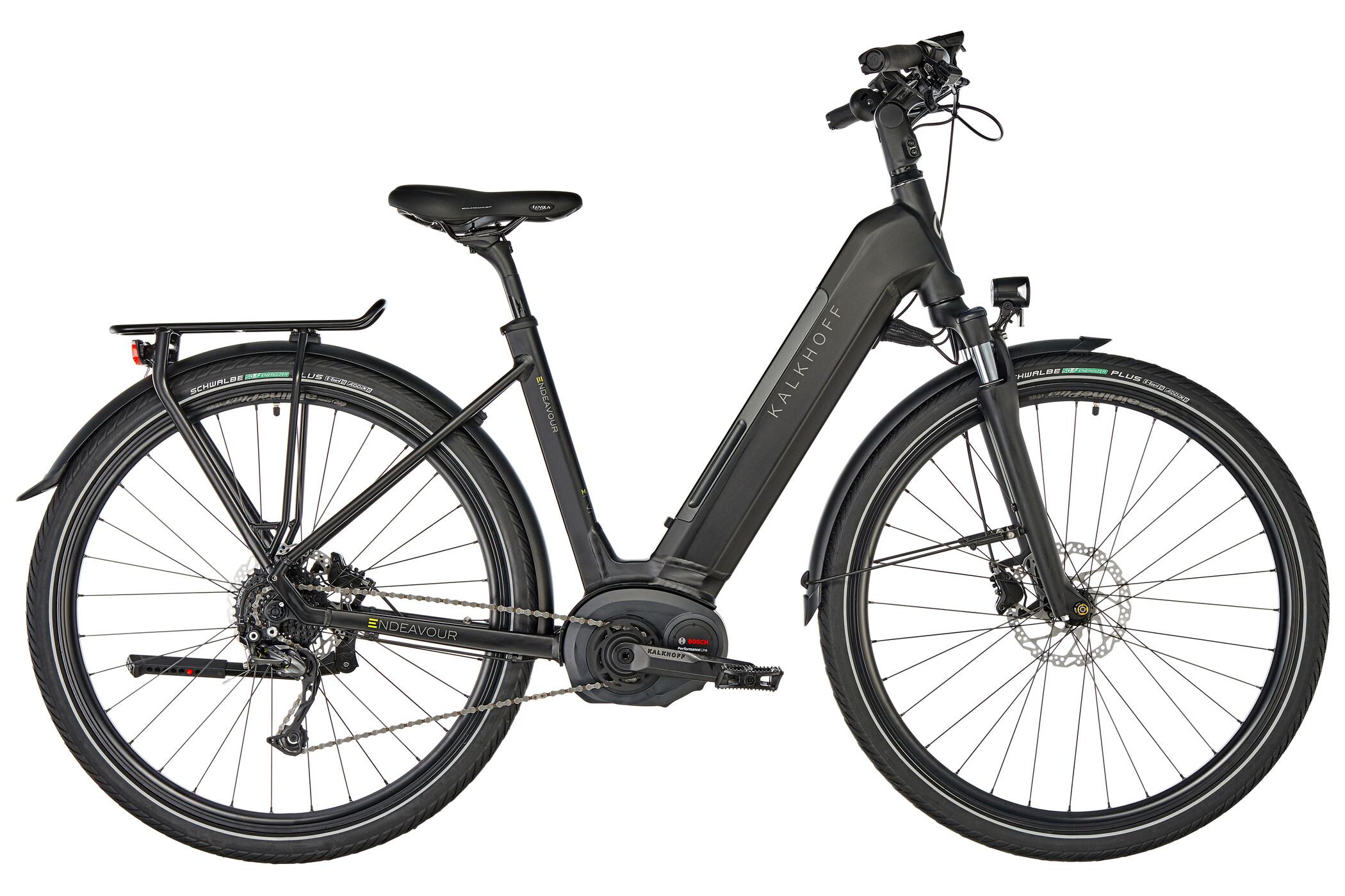 Kalkhoff Endeavour 5.B XXL Wave 500Wh, magicblack matt | City-cykler