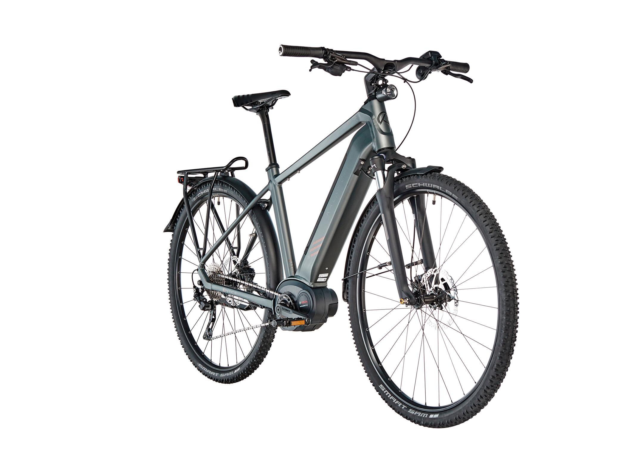 Kalkhoff Entice 5.B Tour Diamant 500Wh, shadowgrey matt | City-cykler