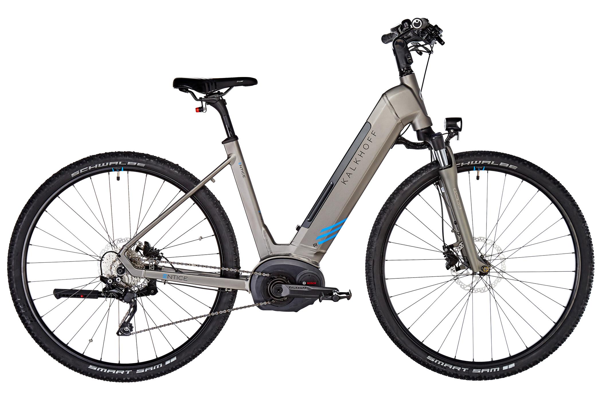 Kalkhoff Entice 5.B Advance Wave 500Wh, torontogrey matt | City-cykler
