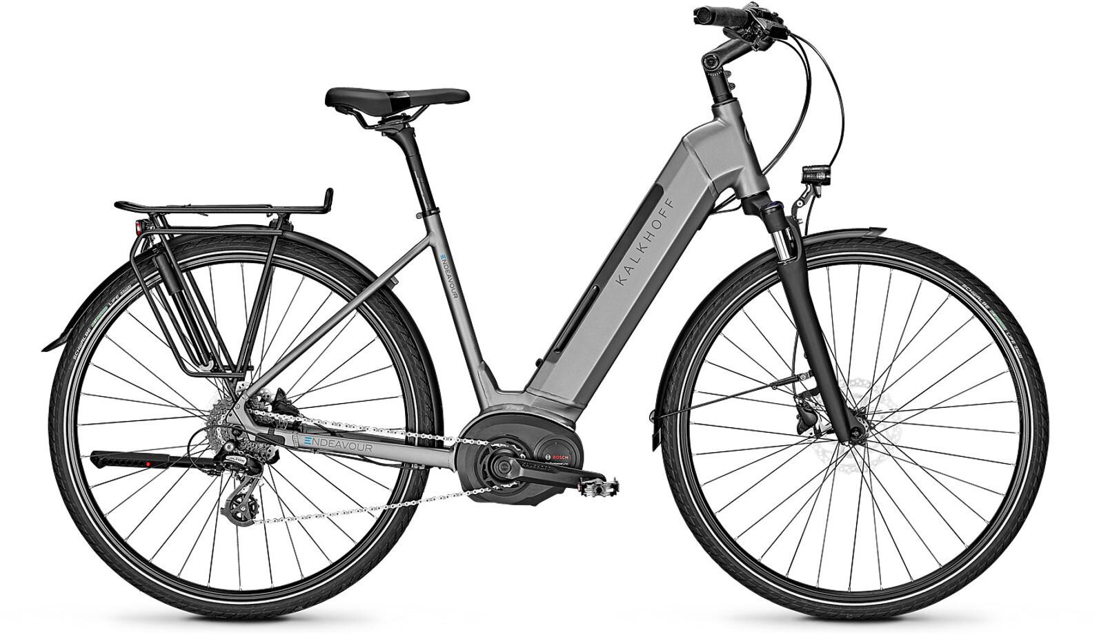 Kalkhoff Endeavour 3.B Move E-citybike Wave 500Wh grå (2019) | City-cykler