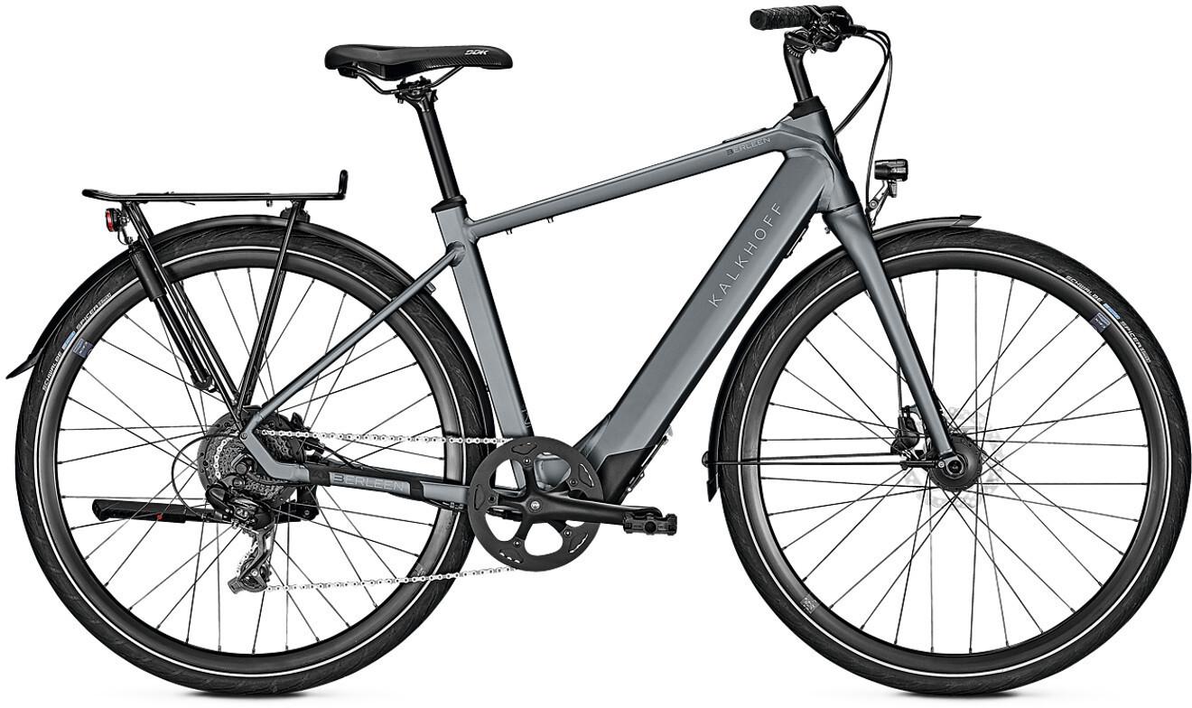 Kalkhoff Berleen 5.G Move E-citybike Diamant 252Wh grå (2019) | City-cykler