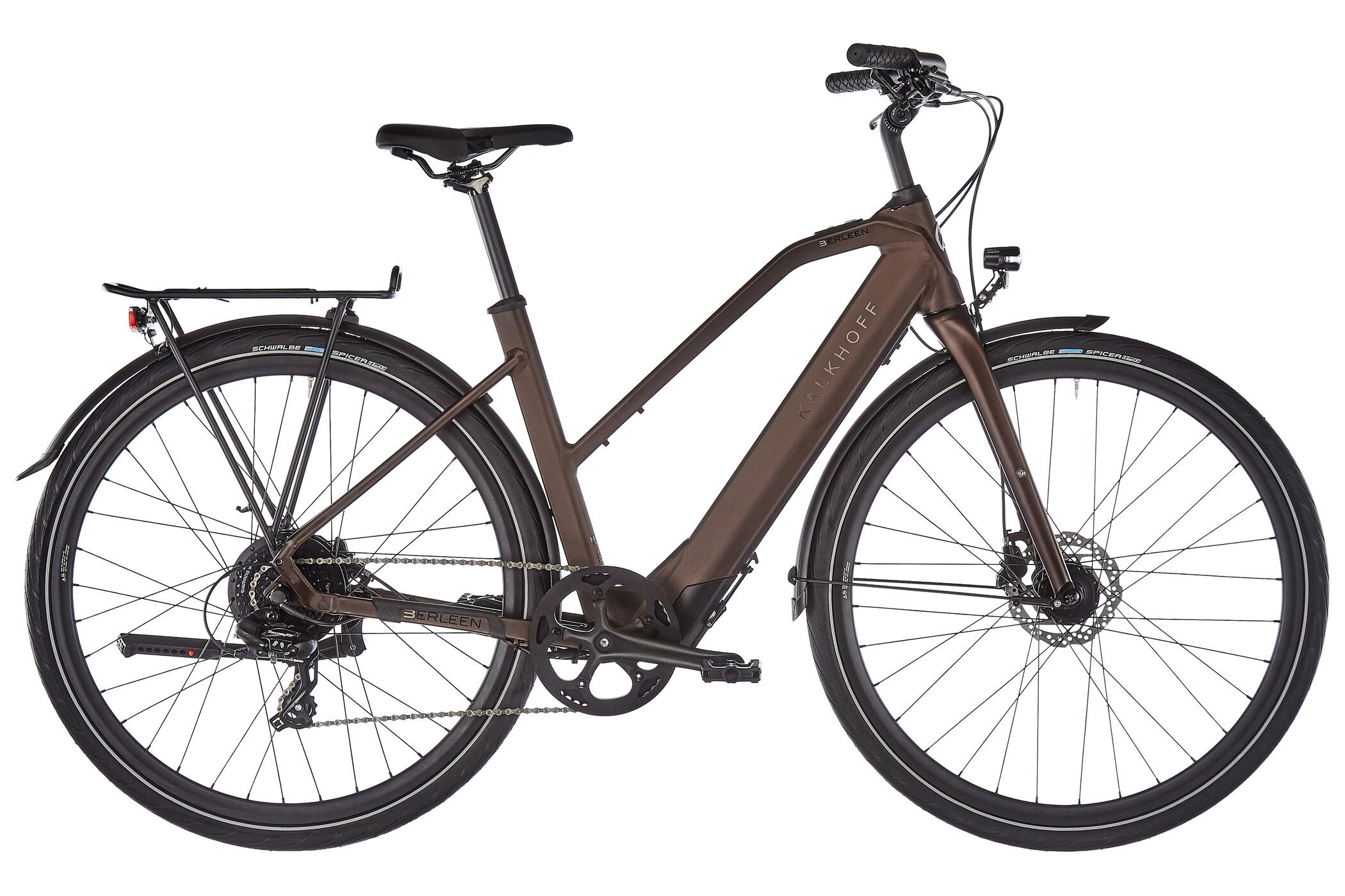 Kalkhoff Berleen 5.G Move Trapez 252Wh, toffeebrown matt | City-cykler