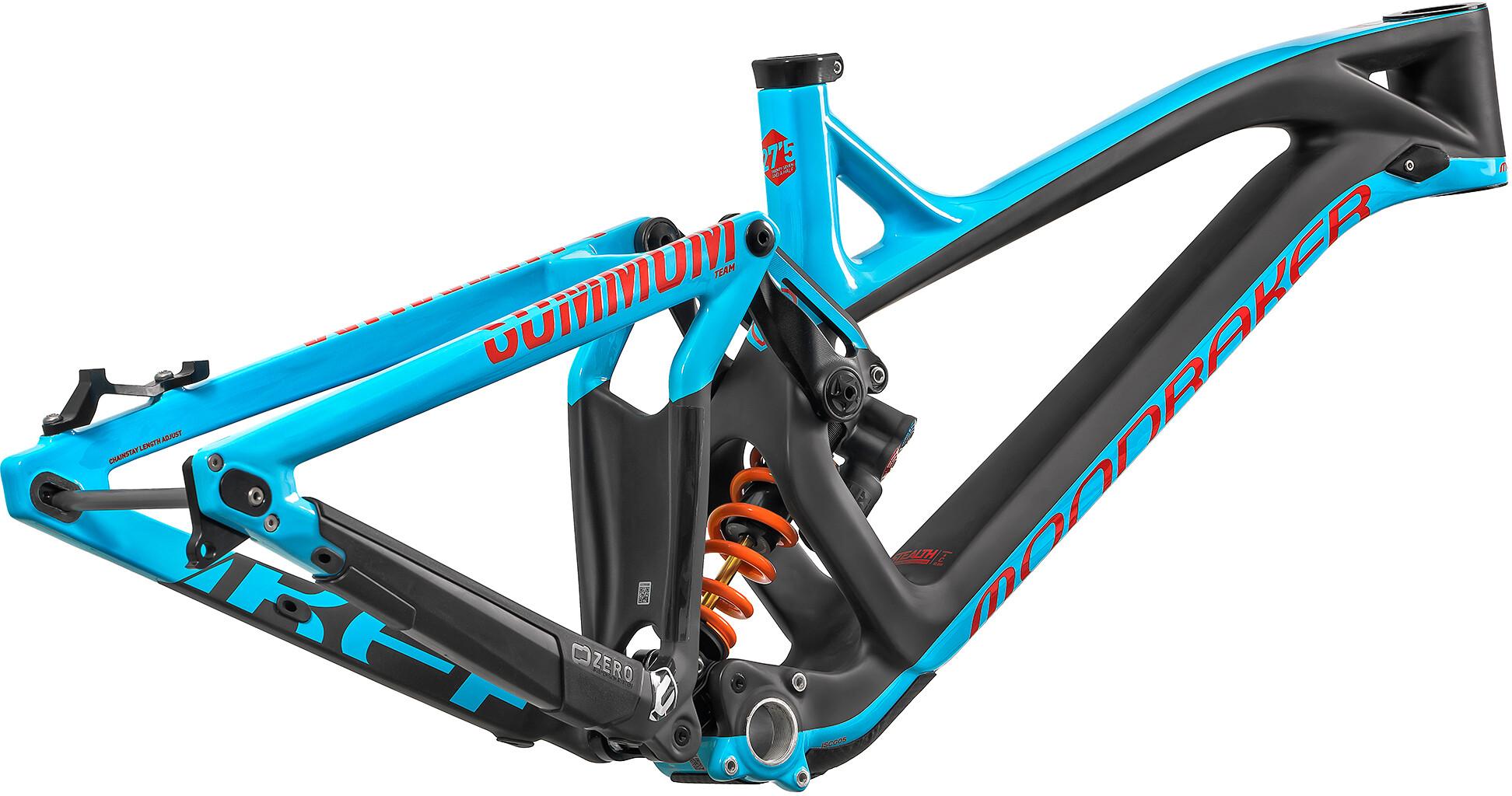 Mondraker Summum Carbon Pro Team Stel, light blue/flame red/carbon (2019) | Frames