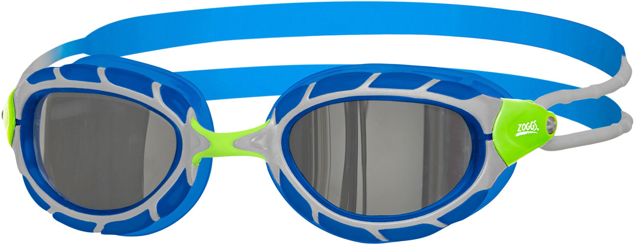 Zoggs Predator Mirror Svømmebriller Børn, green/blue/mirror (2019) | swim_clothes