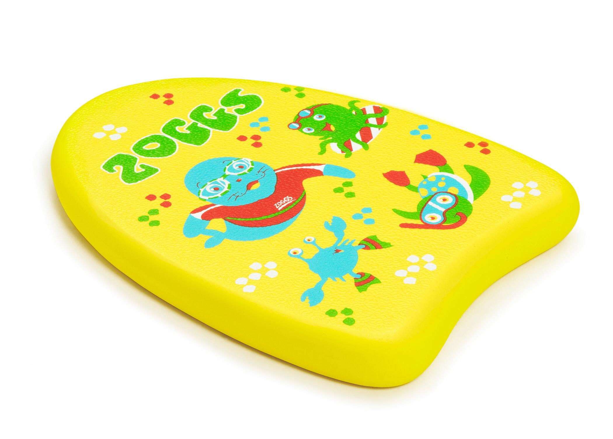 Zoggs Mini Kickboard Børn, yellow (2019) | swim_clothes