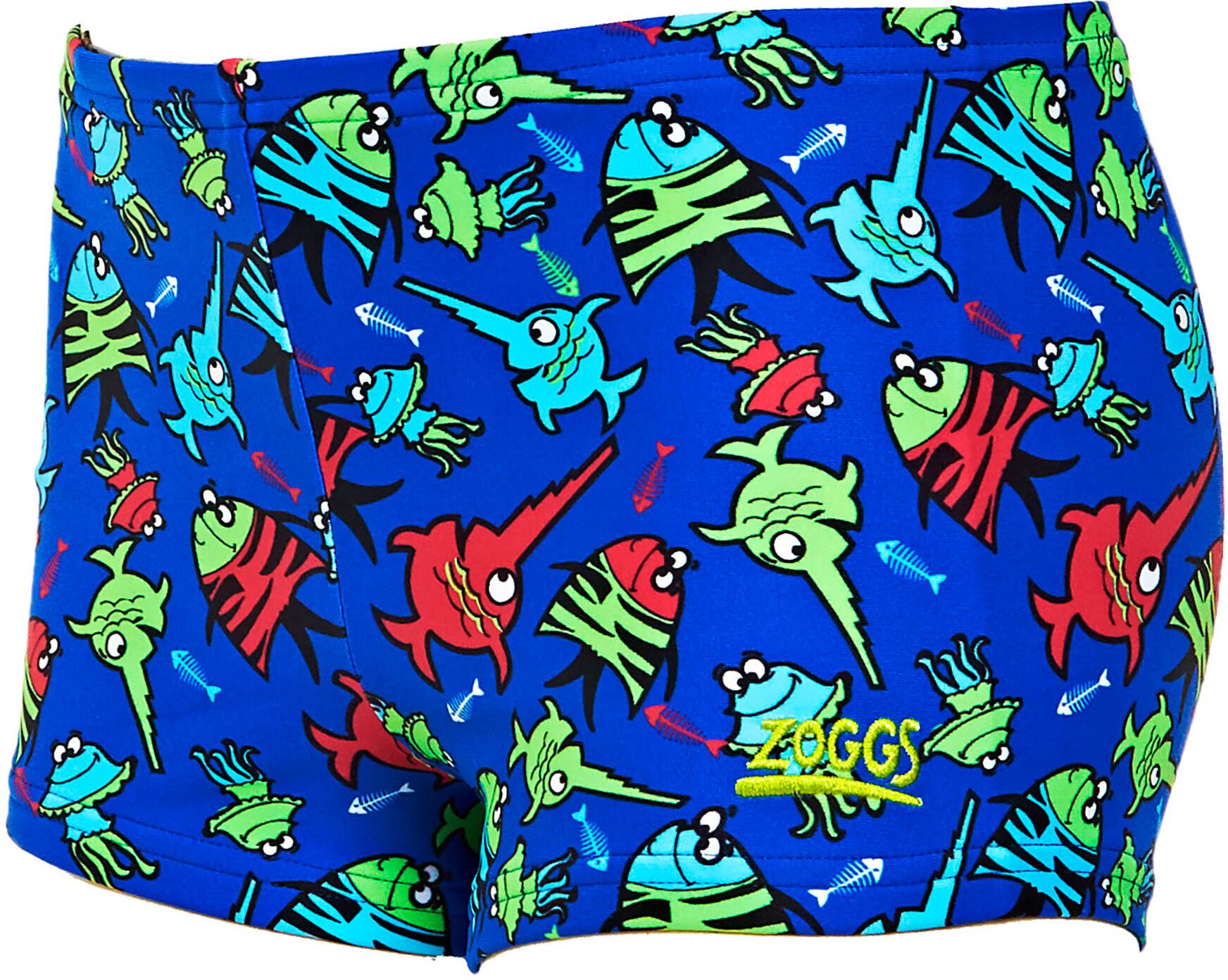 Zoggs Sea Saw Hip Racer Badebukser Drenge, blue/multi (2019) | swim_clothes