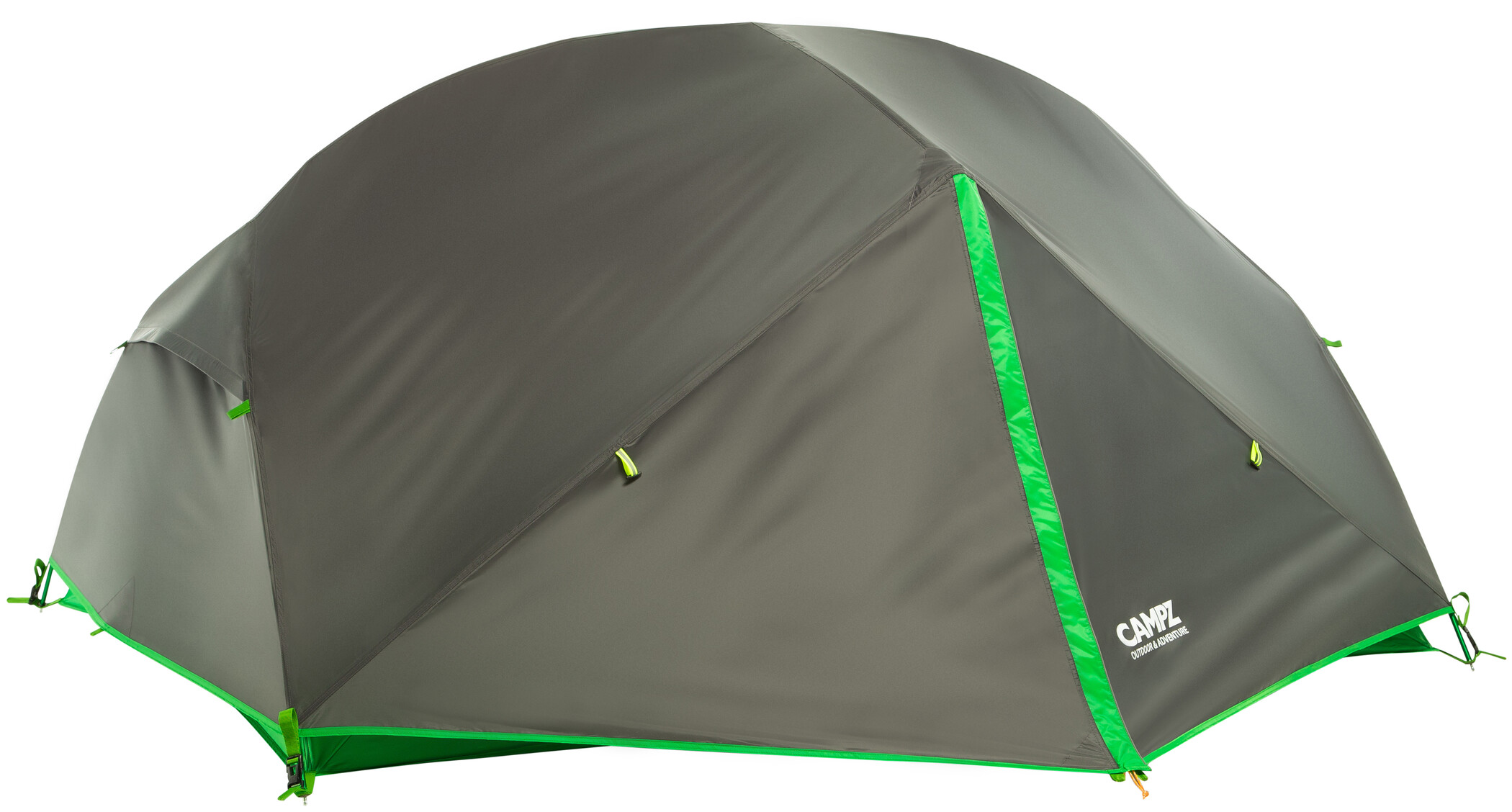 CAMPZ Lacanau 2P Telt, deep grey/green (2019) | Misc. Transportation and Storage