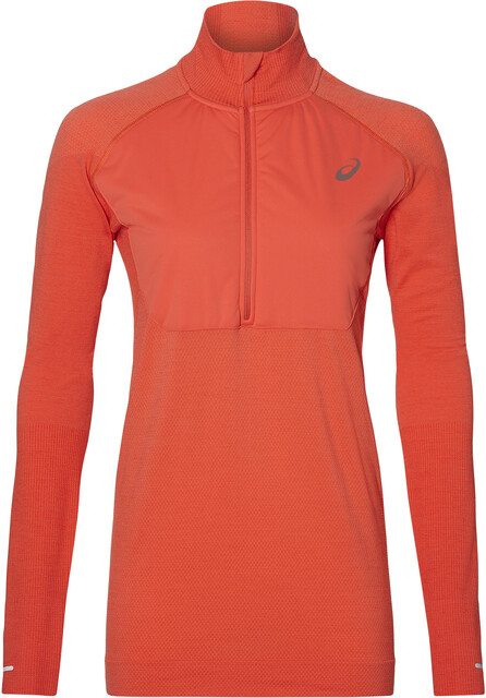 Pink Asics System Layer 2 Womens Long Sleeve Running Top