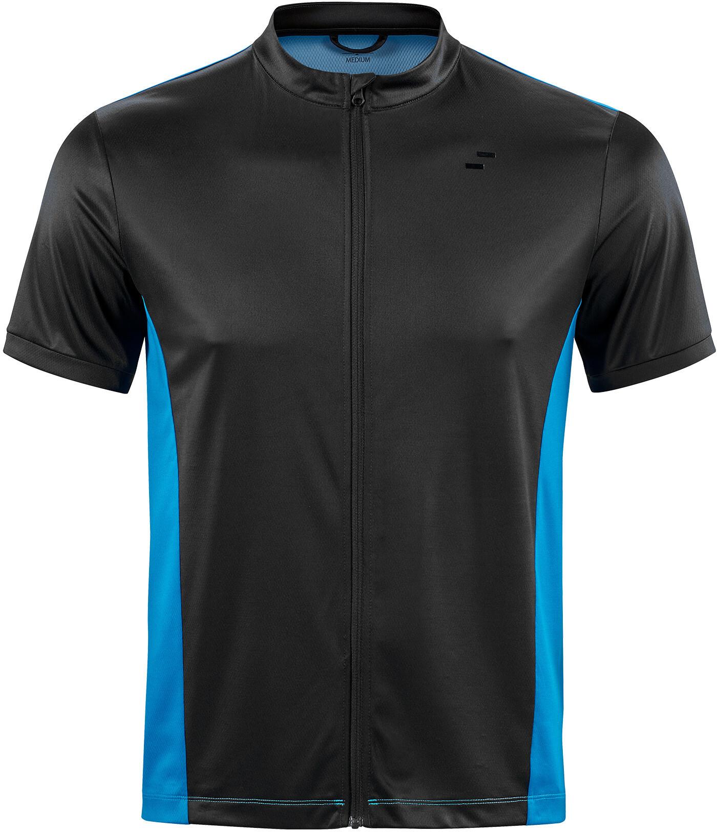 SQUARE Performance Kortærmet cykeltrøje Herrer, blue'n'black (2020) | Jerseys