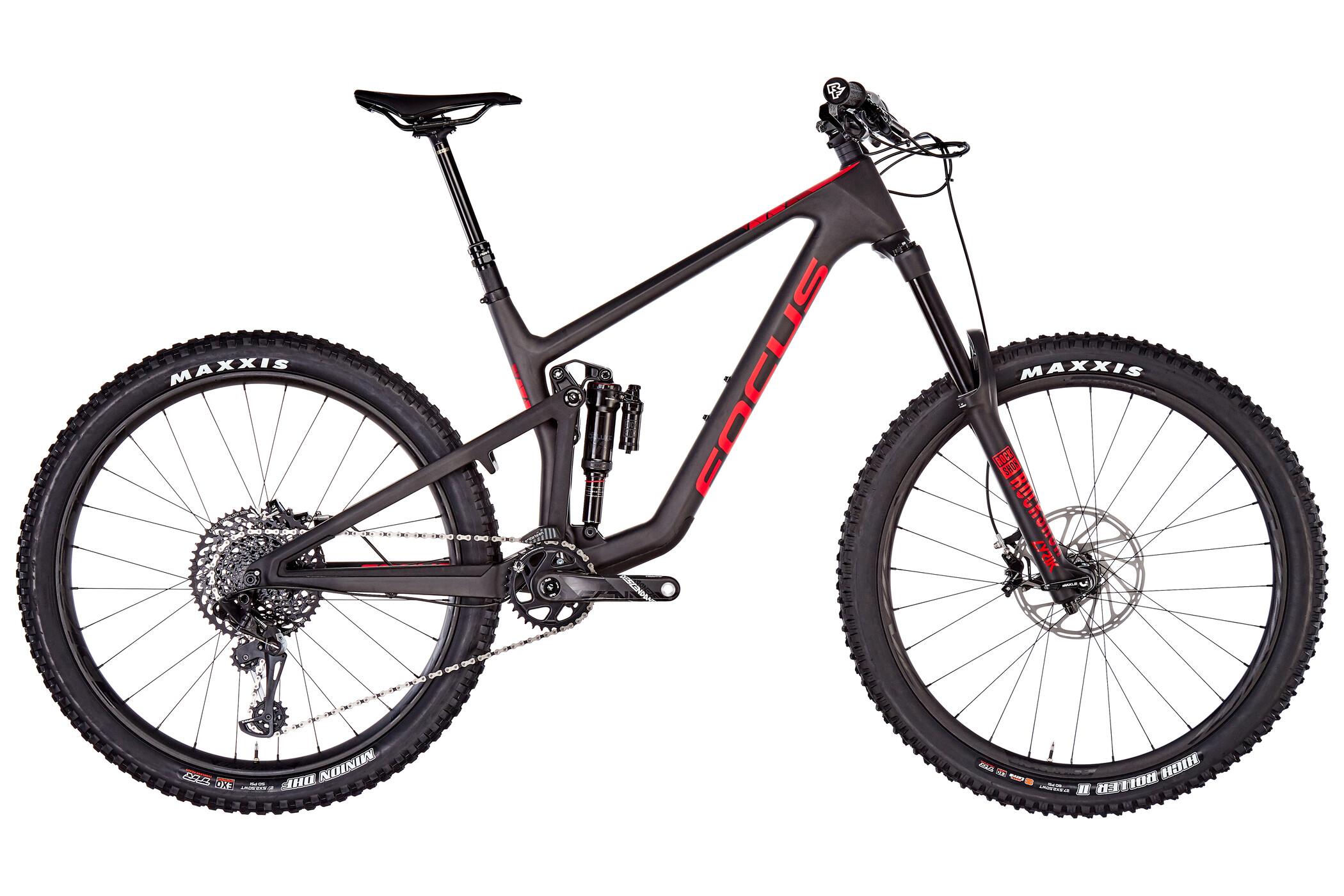 FOCUS Sam 9.9, black/red (2019) | Mountainbikes