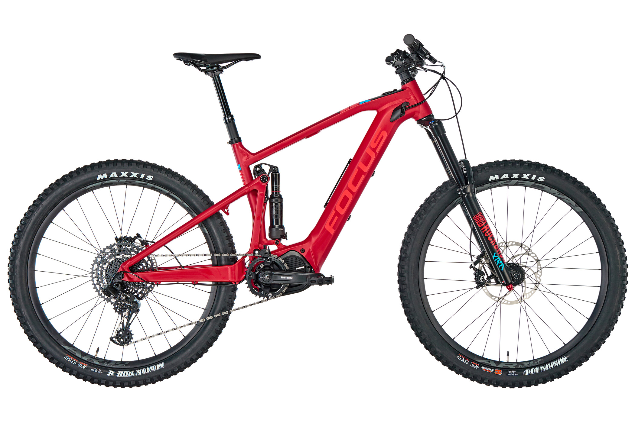 FOCUS Sam² 6.7, red matt (2019) | Mountainbikes