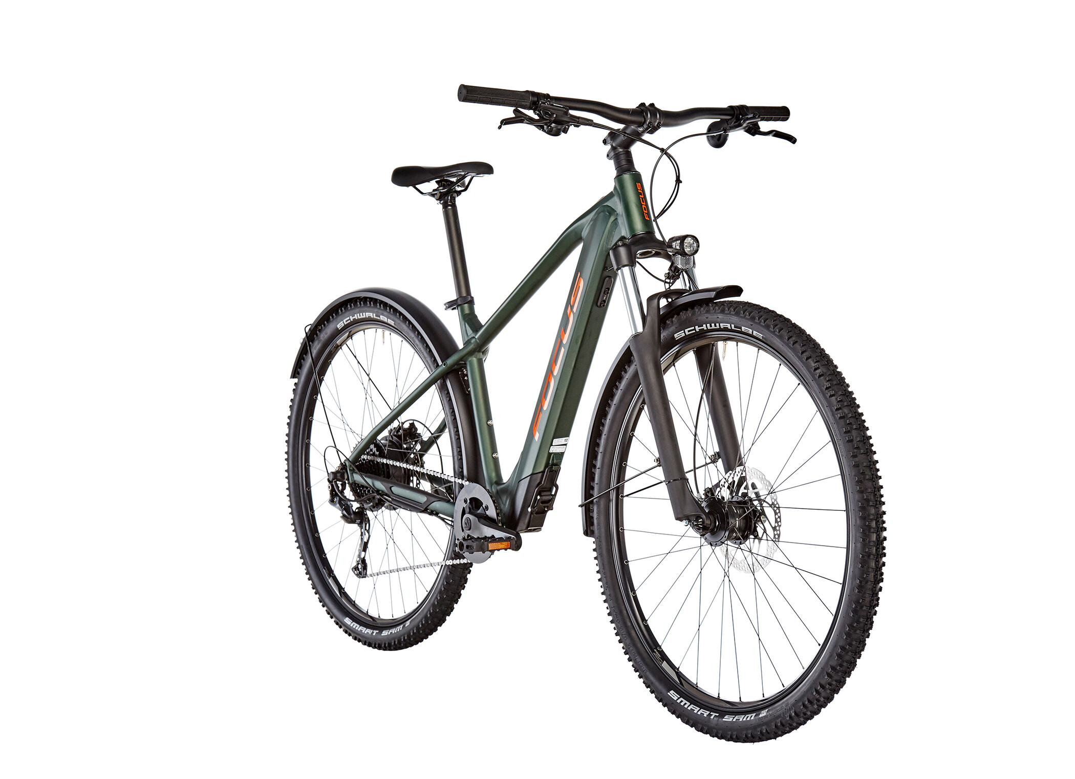 FOCUS Whistler² 6.9 EQP, mossgreen (2020) | Mountainbikes