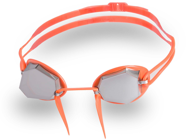 Head Diamond Gold Mirrored Svømmebriller, orange-fluo   Tri-beklædning