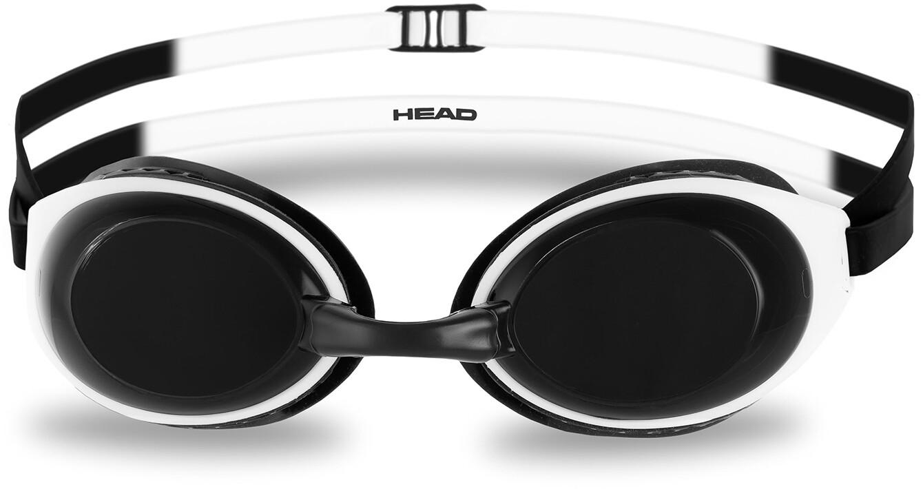 Head HCB Comp Svømmebriller, black-white-smoke   Tri-beklædning