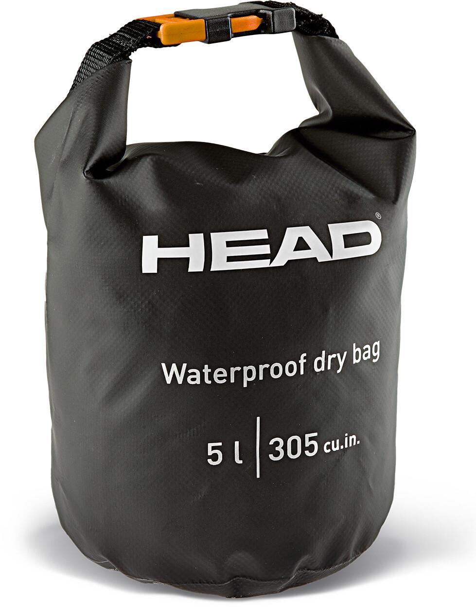 Head Dry Bag, black   Rygsæk og rejsetasker