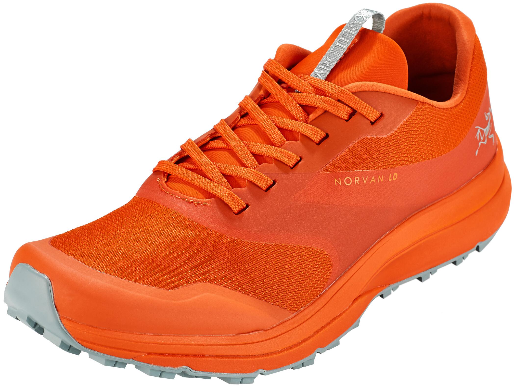 Arc'teryx Norvan LD Sko Herrer, trail blaze/robotica   Shoes and overlays