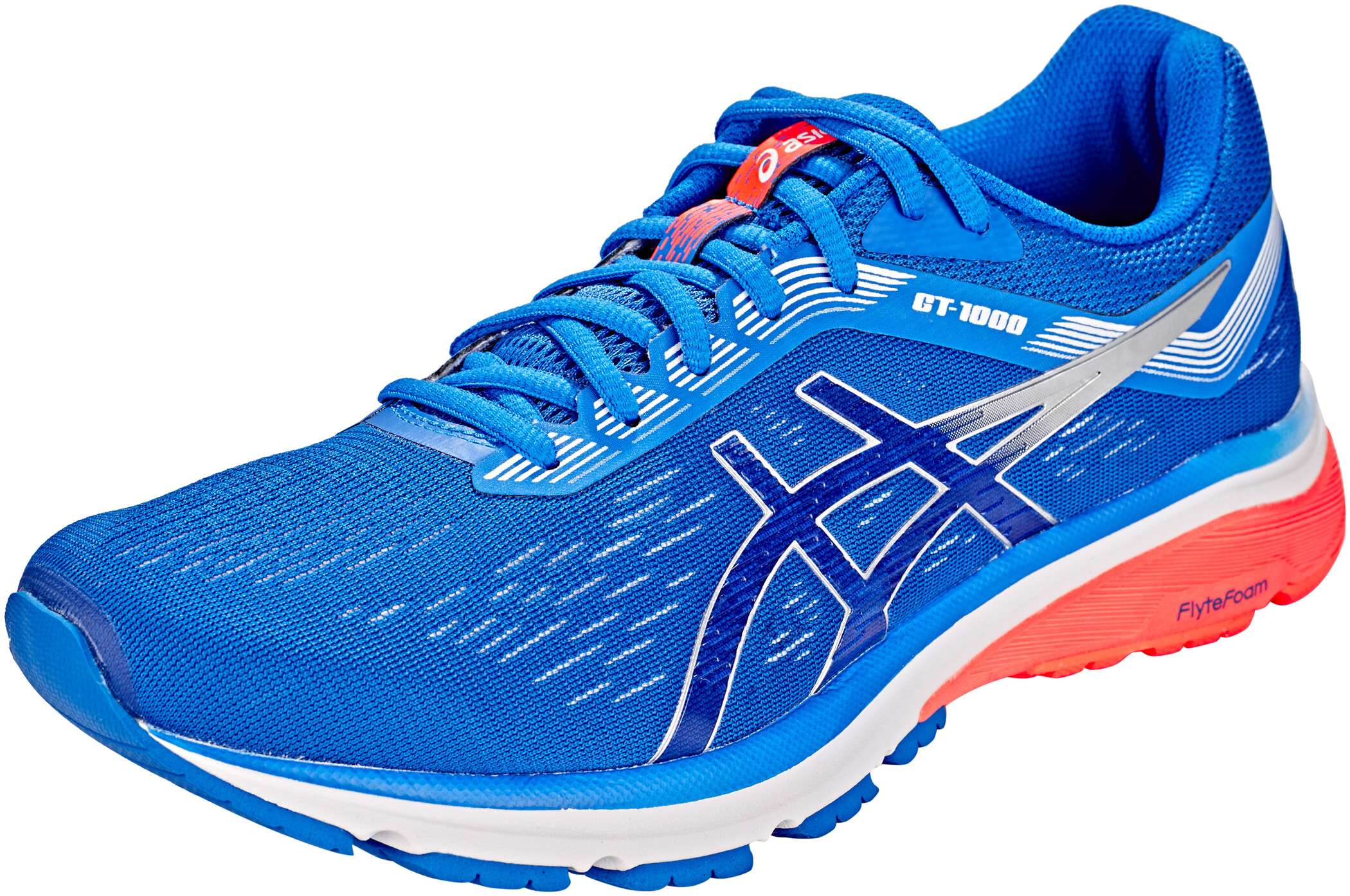 asics GT-1000 7 Sko Herrer, illusion blue/silver | Running shoes