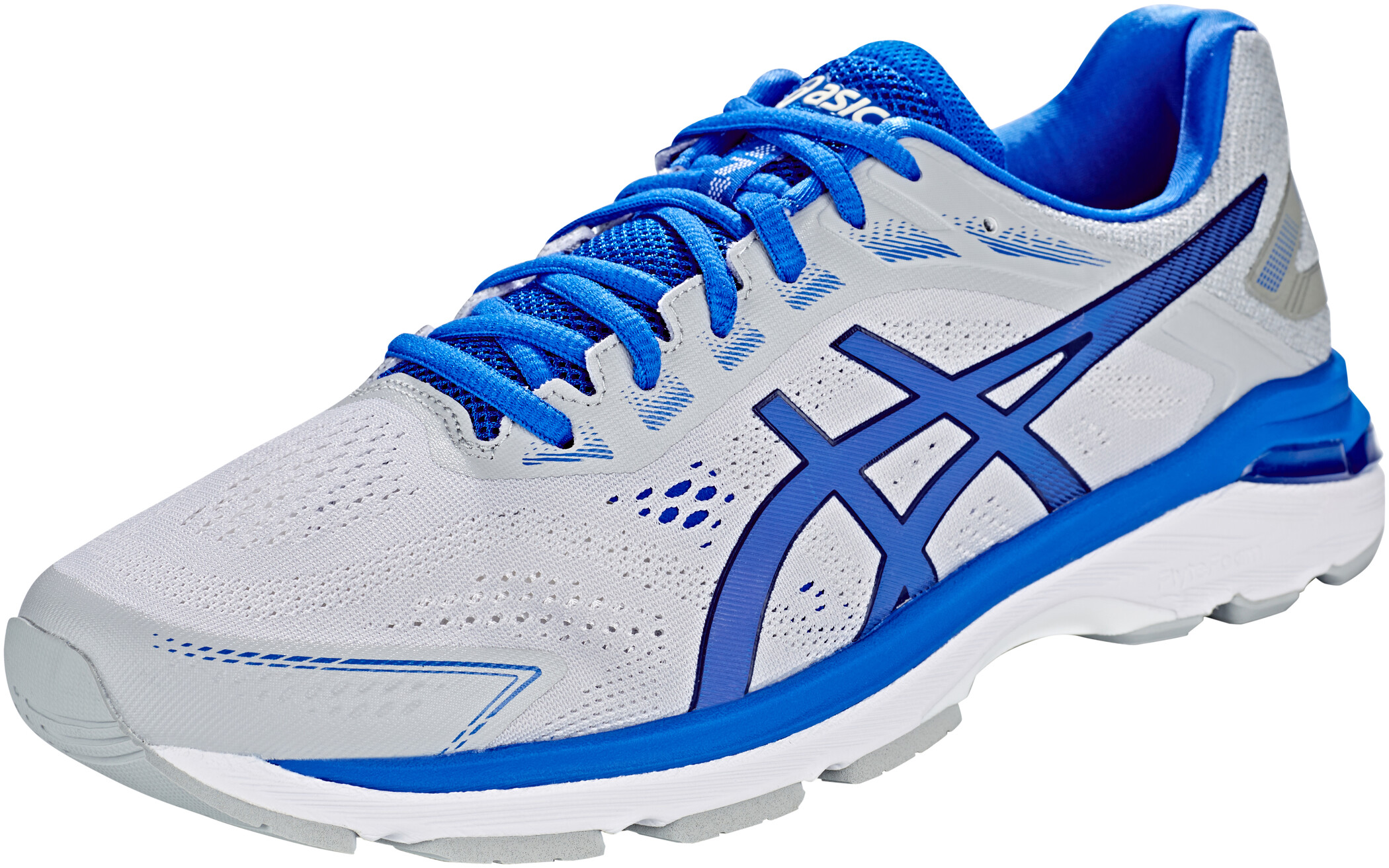 asics GT-2000 7 Lite-Show Sko Herrer, mid grey/illusion blue | Running shoes