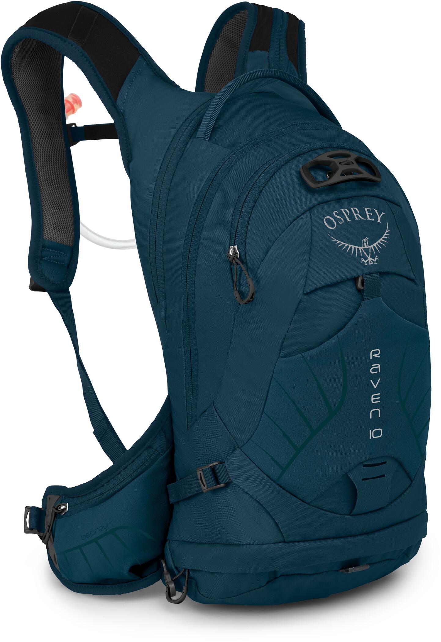 Osprey Raven 10 Rygsæk Damer, blue emerald (2020) | Travel bags