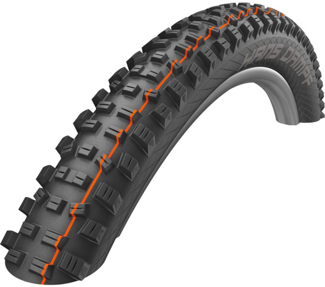 "SCHWALBE Hans Dampf Evo Folding Tyre Super Gravity TLE E-25 Addix Soft 27.5x2.35"", black (2019) | Tyres"