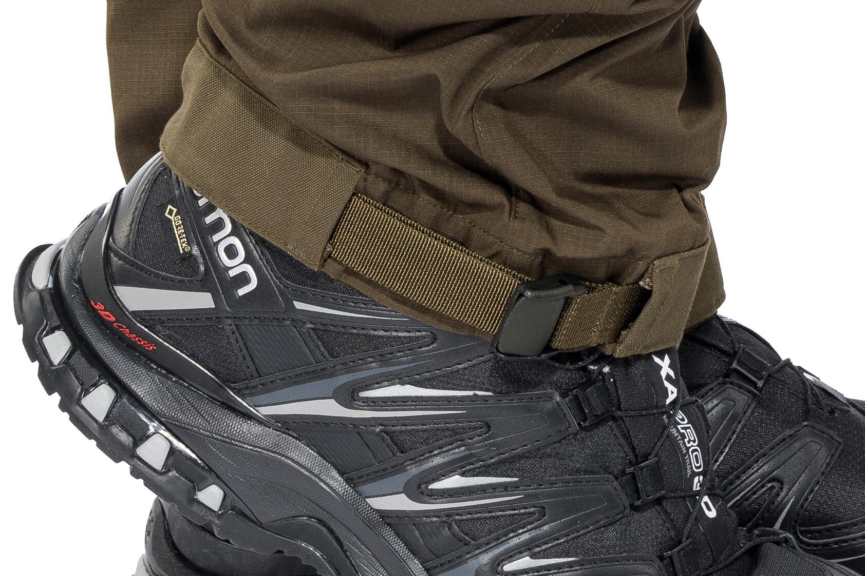 Mens Abisko Lite Trekking Zip-Off Trousers Long Sand//Tarmac Fjallraven 48