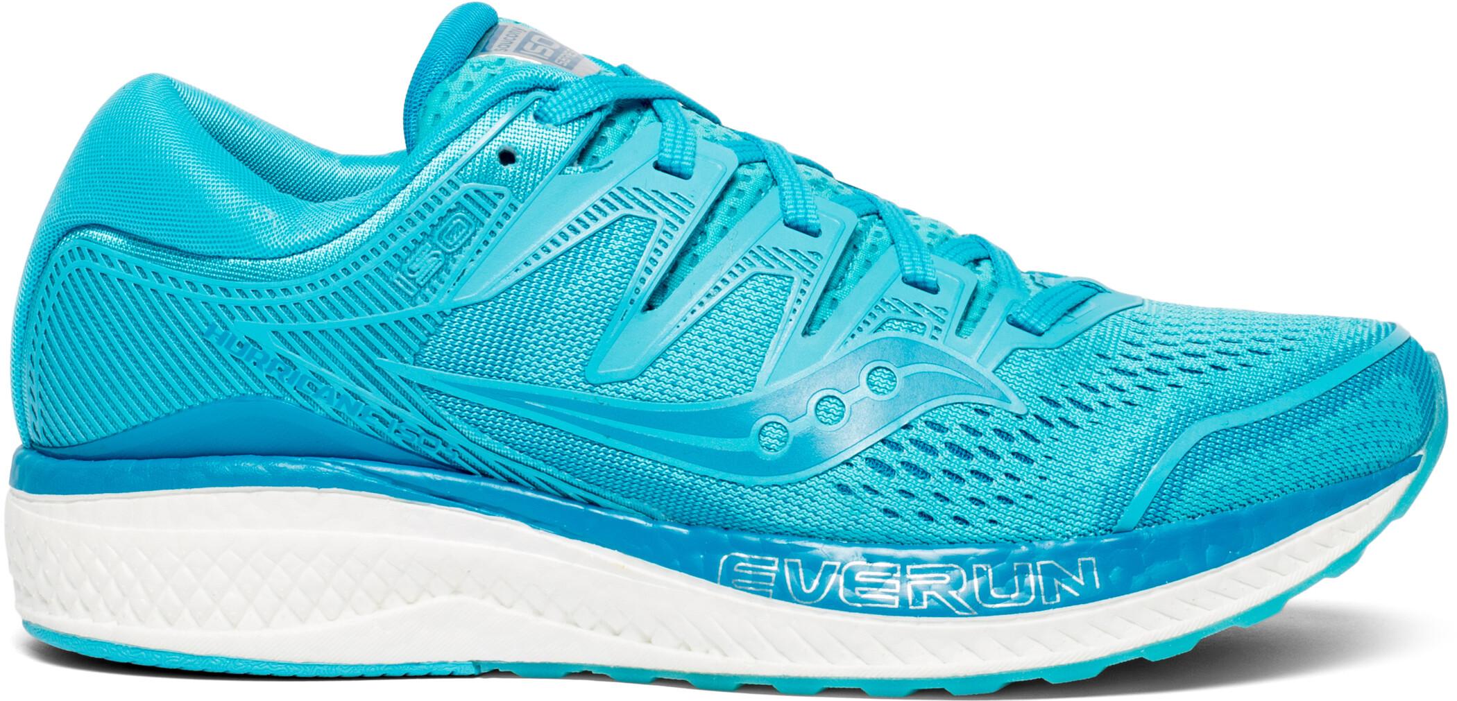 saucony Hurricane ISO 5 Sko Damer, blue (2019) | Running shoes