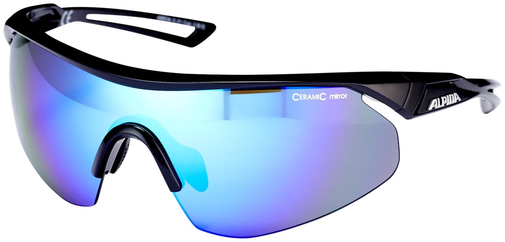 Alpina Nylos Shield Cykelbrille Sort | Glasses
