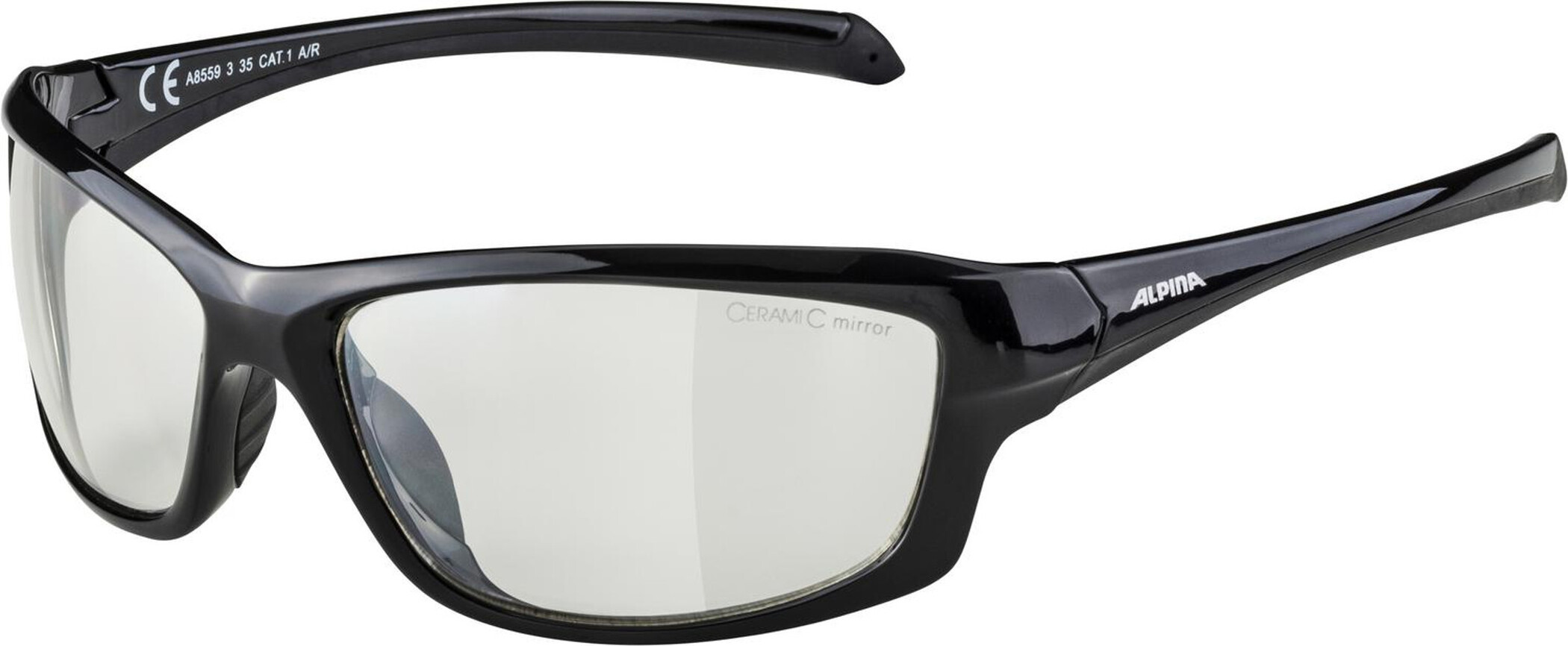 Alpina Dyfer Cykelbriller, black (2019) | Glasses