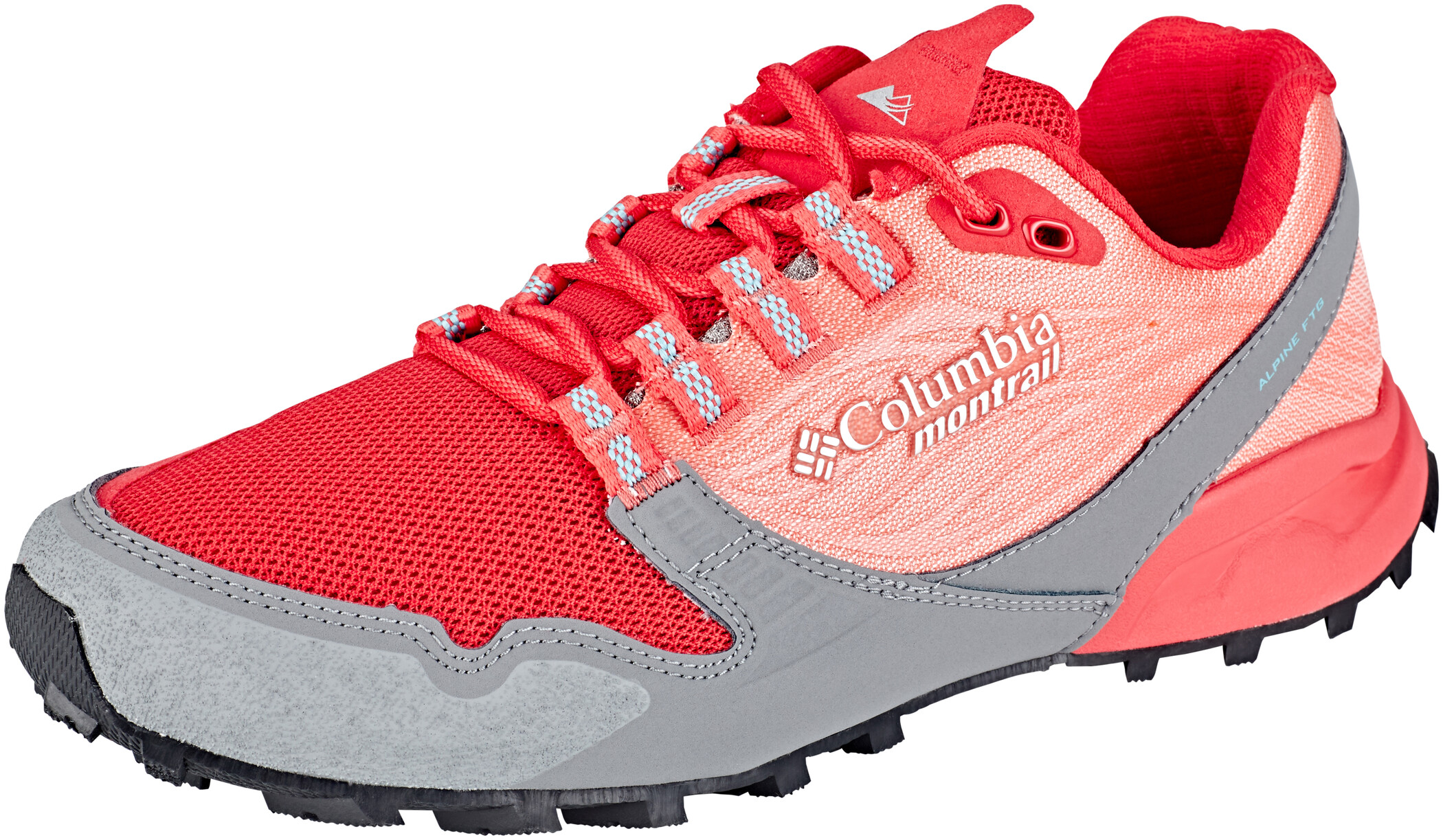 Columbia Alpine FTG Sko Damer, red coral/iceberg (2019) | Shoes and overlays