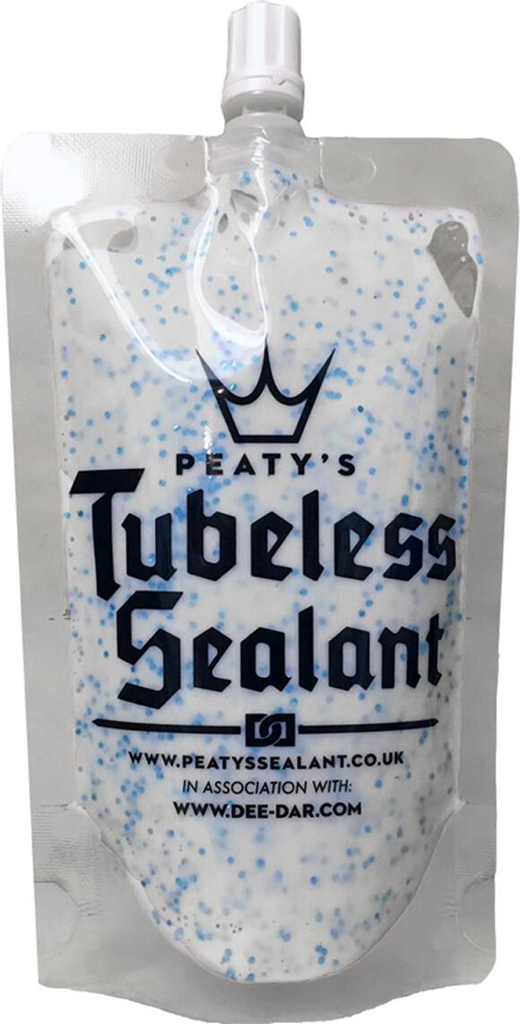 Peaty's Tubeless Sealant Trail Pouch 120ml | Lappegrej og dækjern